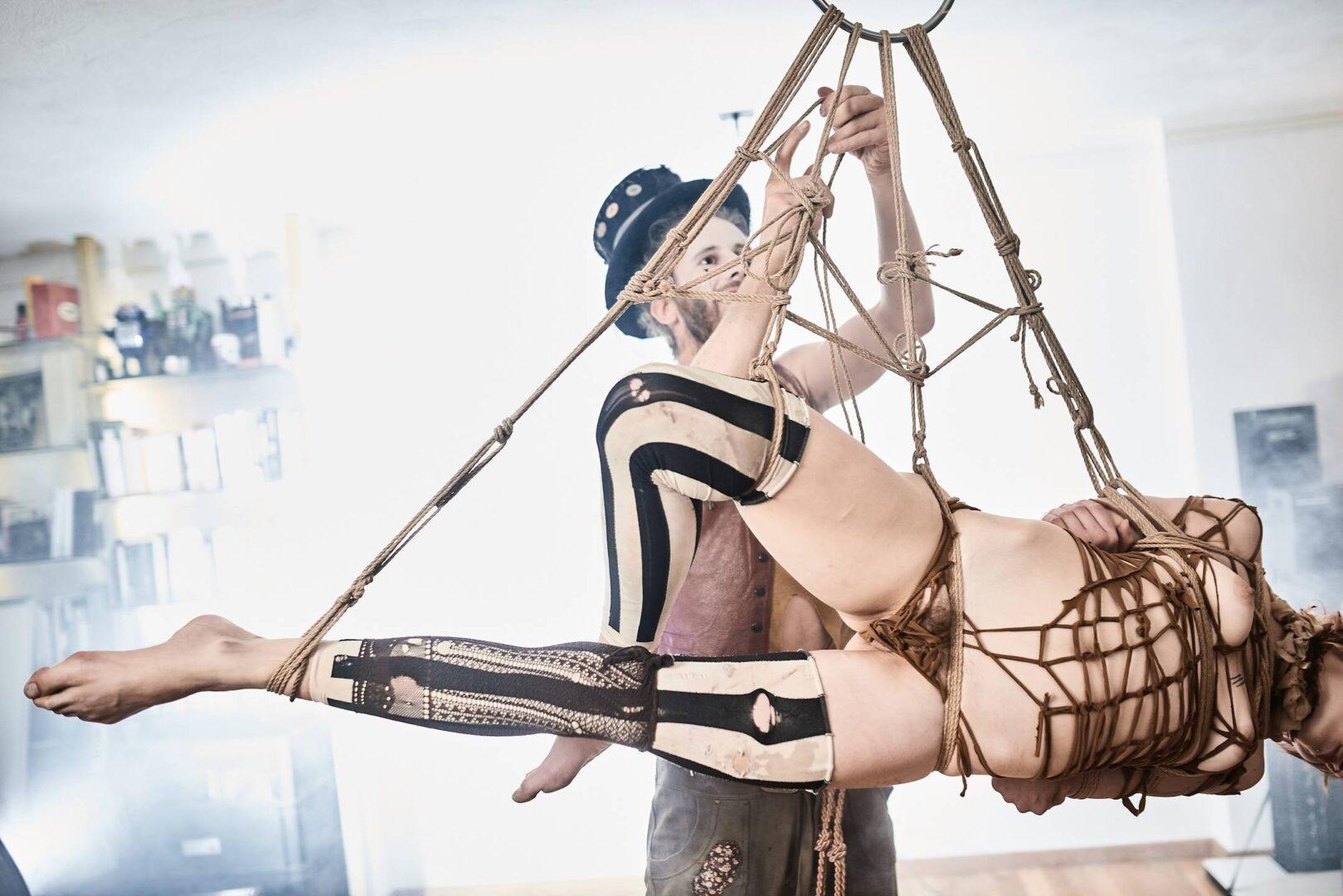 Steampunk Circus Shibari - 10