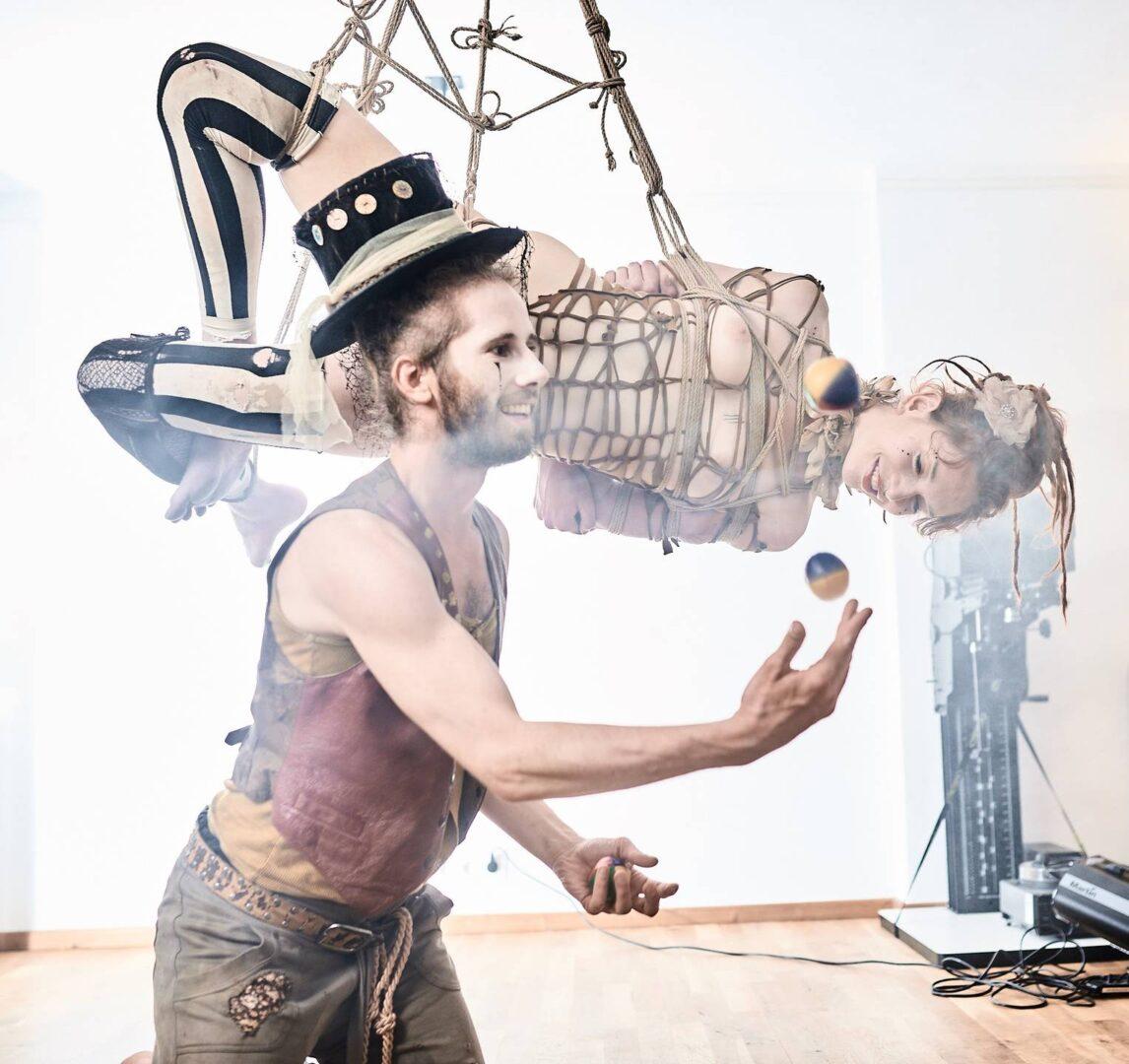 Steampunk Circus Shibari - 11
