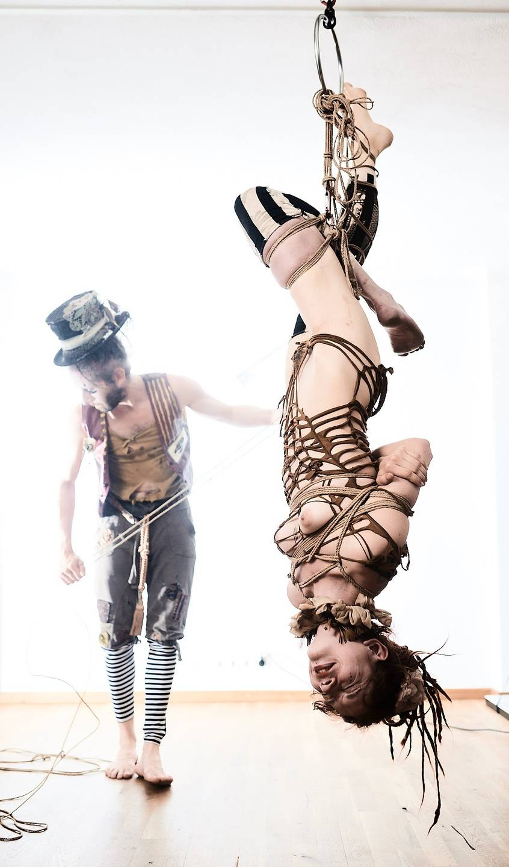 Steampunk Circus Shibari - 1