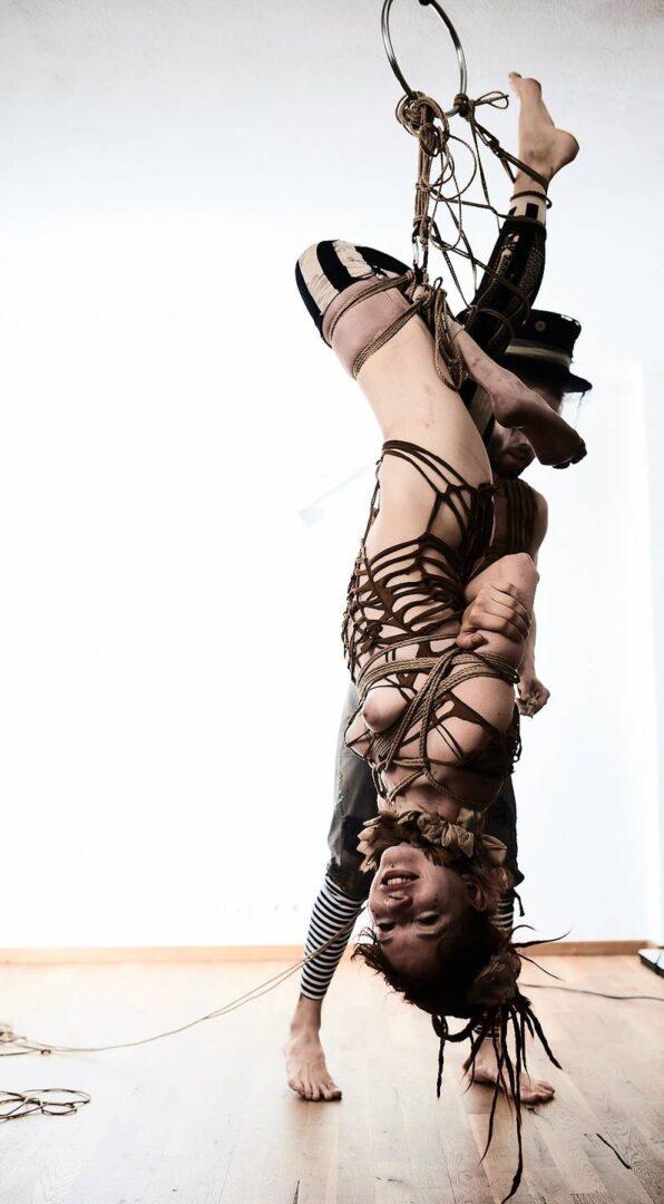 Steampunk Circus Shibari - 17