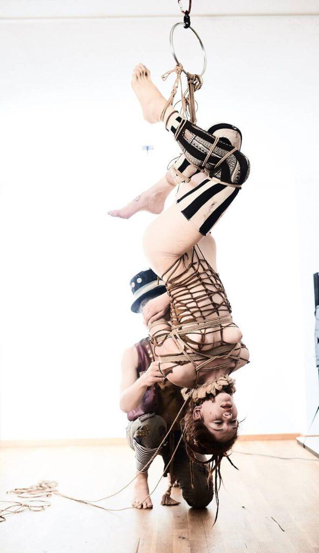 Steampunk Circus Shibari - 18