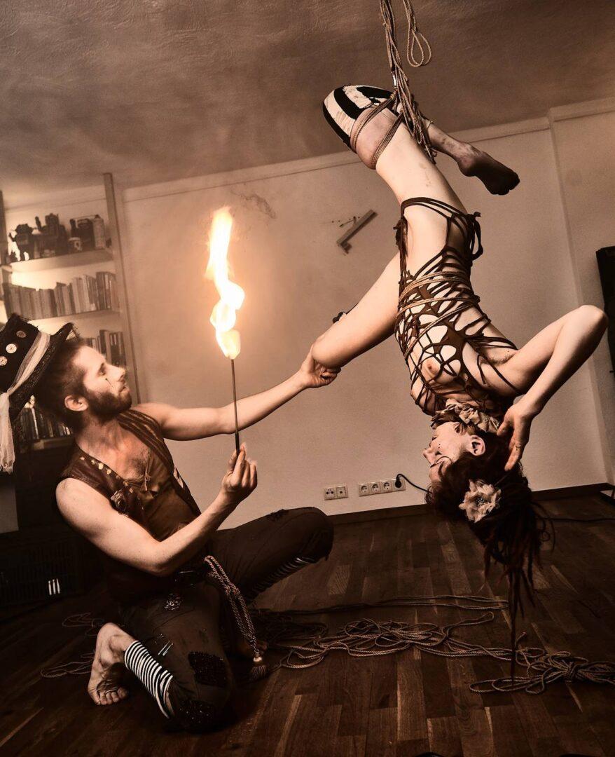 Steampunk Circus Shibari - 27