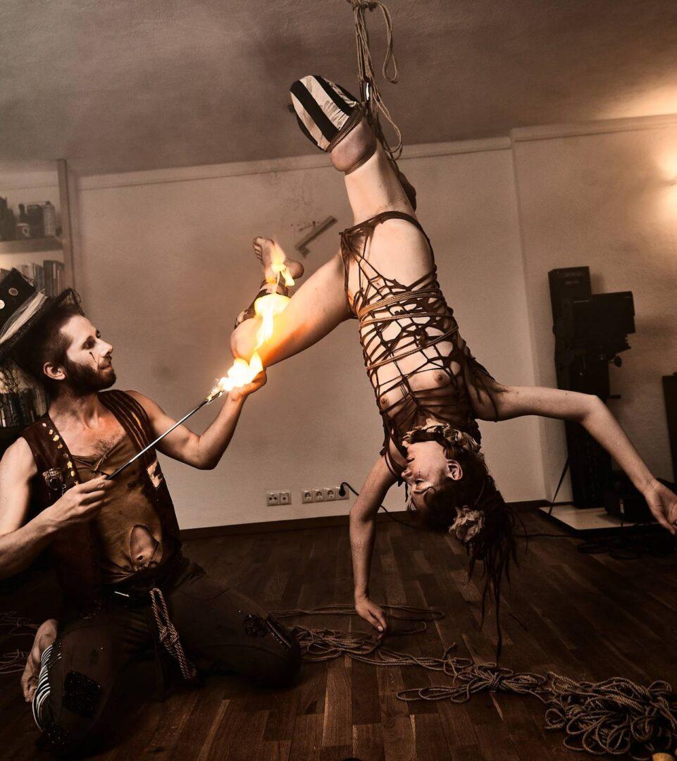 Steampunk Circus Shibari - 30