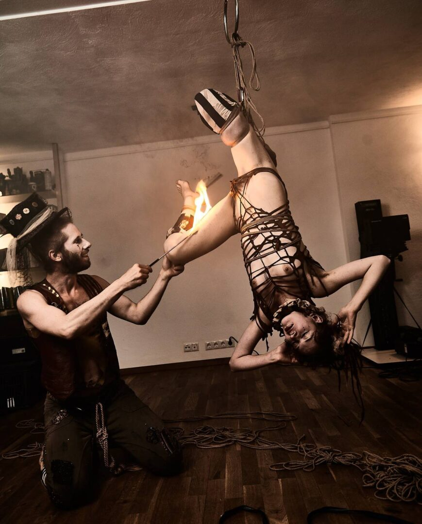 Steampunk Circus Shibari - 31